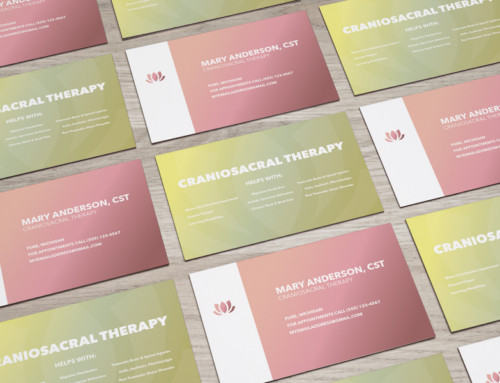 Craniosacral Therapy Business Card