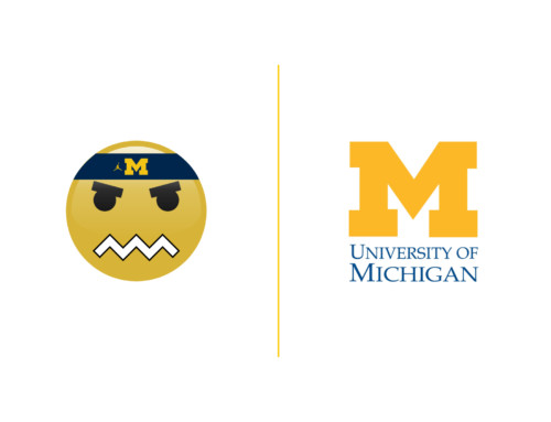 Michigan Basketball Emoji